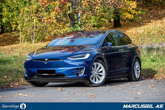 """Tesla Model X LONG RANGE """"RAVEN"""" FSD/LUFT/HIFI/VINTER/H.FESTE/NETFLIX  2019, 22700 km, kr 839999,-"""