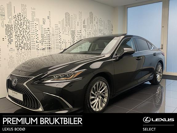 Lexus ES 300h Luxury Toppmodell   MarkLevinson   360* Kamera  2019, 29500 km, kr 589000,-