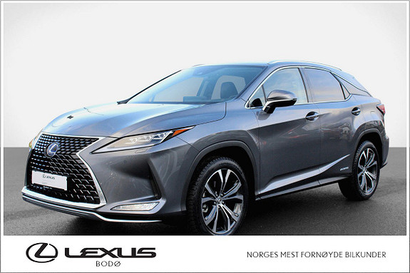 Lexus RX450h Executive   Facelift   Hybrid   HeadUP   V6 313hk  2020, 3000 km, kr 899000,-
