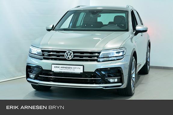 Volkswagen Tiguan 2,0 TDI 150hk 4M DSG Highline R-line +, Webasto, Krok  2018, 44100 km, kr 449900,-