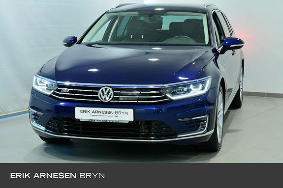 Volkswagen Passat GTE PLUG IN HYBRID Hengerfeste, Ryggekamera, Skinn  2018, 42000 km, kr 339900,-