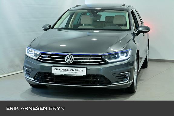 Volkswagen Passat GTE PLUG-IN HYBRID Active info, Dynaudio, Skinn, Pano +  2017, 43189 km, kr 309900,-