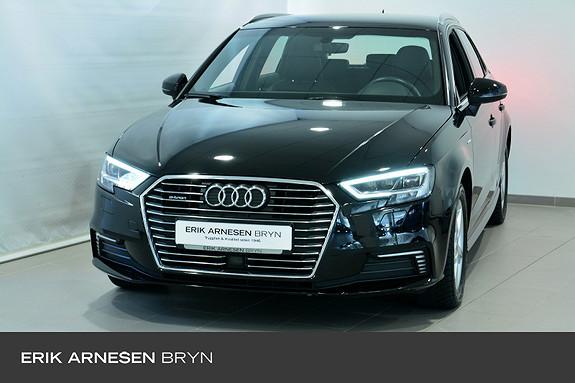 Audi A3 E-TRON PLUG-IN HYBRID Skinn, Krok + +  2018, 43200 km, kr 264900,-
