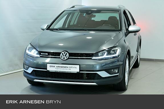 Volkswagen Golf Alltrack 1,8 TSI 180hk 4MOTION DSG Skinn, Krok, Active info + +  2018, 46800 km, kr 369900,-