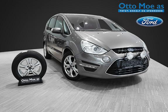 Ford S-MAX 2,0 TDCi 140hk Premium Aut. 7-s Motorvarmer, Nav, Ryggk  2015, 79680 km, kr 309900,-