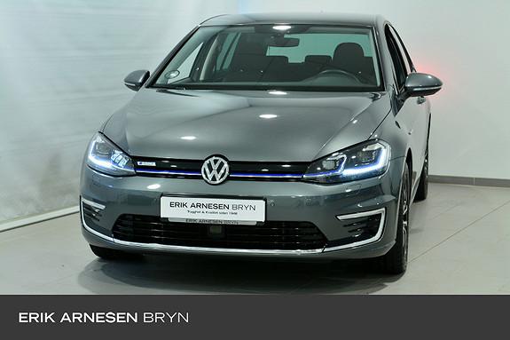 Volkswagen Golf E-GOLF 136HK 300KM Active info, Kamera, Keyless, Navi +  2019, 29100 km, kr 289900,-