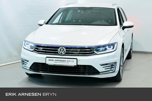 Volkswagen Passat GTE PLUG-IN HYBRID Active info, Dynaudio, Webasto, Krok  2018, 56900 km, kr 339900,-