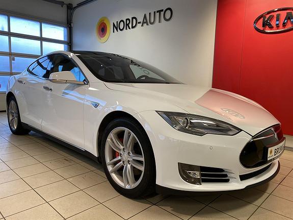 Tesla Model S P 85 422hk Performance Nytt batteri, skinn, panorama++  2014, 114331 km, kr 329900,-
