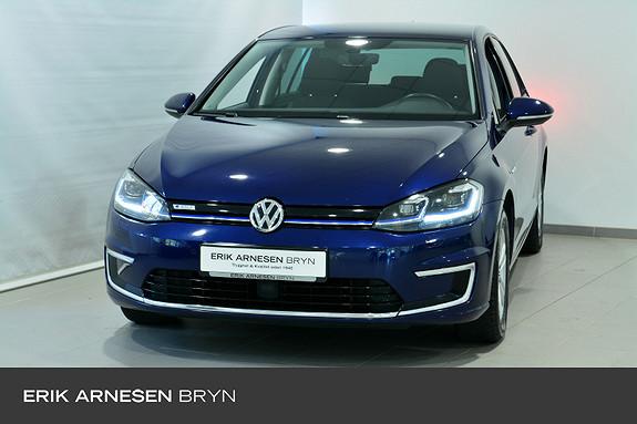 Volkswagen Golf E-GOLF 136HK 300KM Kamera, Navi + +  2018, 59900 km, kr 239900,-