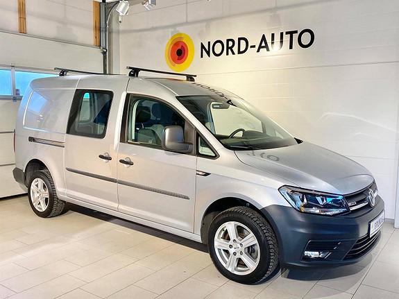Volkswagen Caddy Maxi 2.0  TDI 122HK/4MOTION/WEBASTO/KROK/DAB+/CRUISE  2017, 57000 km, kr 239900,-