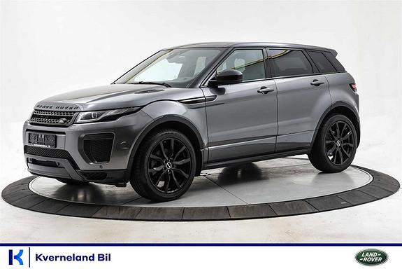 Land Rover Range Rover Evoque 2.0 180 HK SD4 SE DYNAMIC Panorama Navigasjon Skinn  2018, 37800 km, kr 629999,-