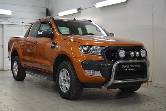 Ford Ranger 3.2 TDCI WILDTRAK.RAP CAB .BØYLE.DAB+.RYGGEKAMERA+++  2017, 82900 km, kr 399000,-