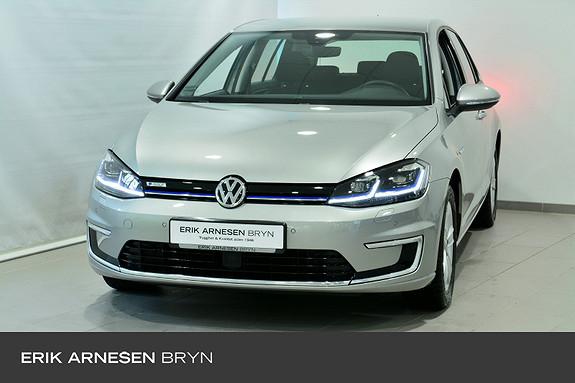 Volkswagen Golf E-GOLF 136HK 300KM  2018, 41000 km, kr 229900,-