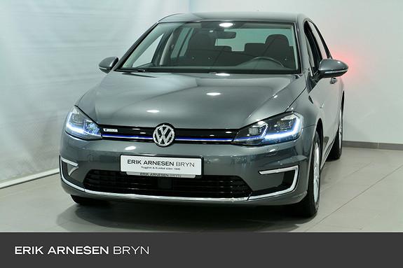 Volkswagen Golf E-GOLF 136HK 300KM Varmepumpe, Kamera, + +  2019, 39600 km, kr 259900,-