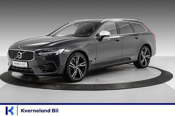 Volvo V90 T8 407hk R-Design AWD aut LUFT/B&W/TEKNIKKPRO/PANORAMA  2018, 58528 km, kr 579000,-