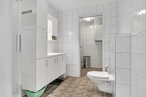 Bad med vaskerom