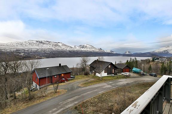 Flott utsikt fra eiendommen!