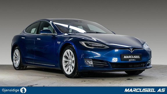 Tesla Model S 90D AP1/7S/VINTER/NEXTGEN/S+ V/GRATIS LADING  2016, 123500 km, kr 419999,-