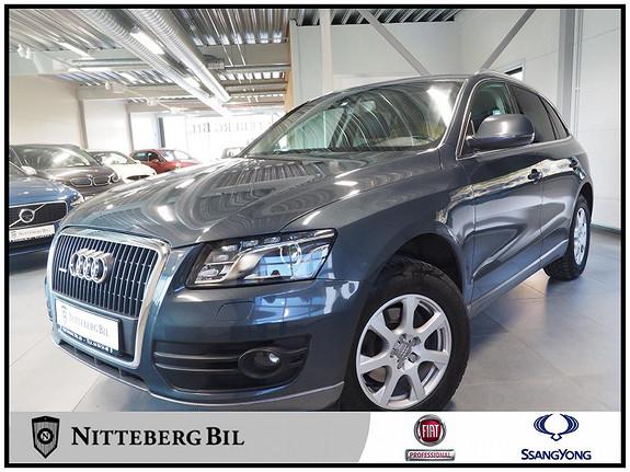 Audi Q5 2,0 TDI 170 Hk quattro S tronic - Dab - Skinn - Xenon -  2010, 185000 km, kr 165000,-