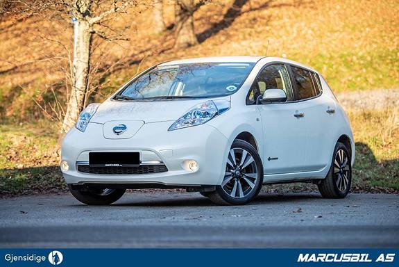 Nissan Leaf 24kWh TEKNA BOSE/DAB/SKINN/360-KAMERA/NAVI/ NY SERVICE  2016, 31500 km, kr 119900,-