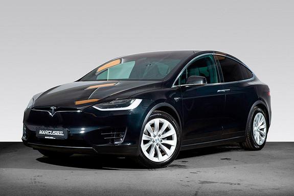 Tesla Model X 75D 7S/LUFT/VINTER/HIFI/SKINN/KARBON/HENGERFESTE  2017, 55500 km, kr 599000,-