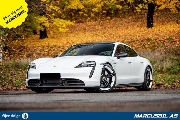 Porsche Taycan TURBO S PDCC/PCCB/ACC/Panorama/Sport Chrono  2020, 650 km, kr 1880000,-