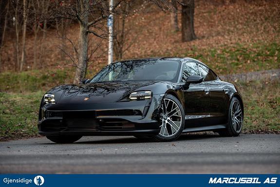 Porsche Taycan 4S Performance Plus, Sport Chrono, Glasstak, Kamera, 5s  2021, 800 km, kr 1149000,-