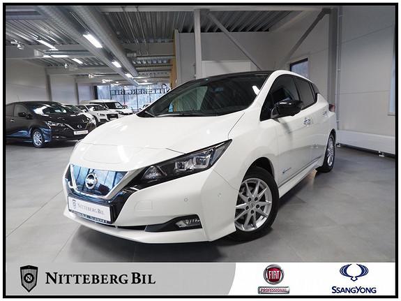 Nissan Leaf Tekna+ - 40kWh - Adaptiv cruisekontroll  2018, 21000 km, kr 229000,-
