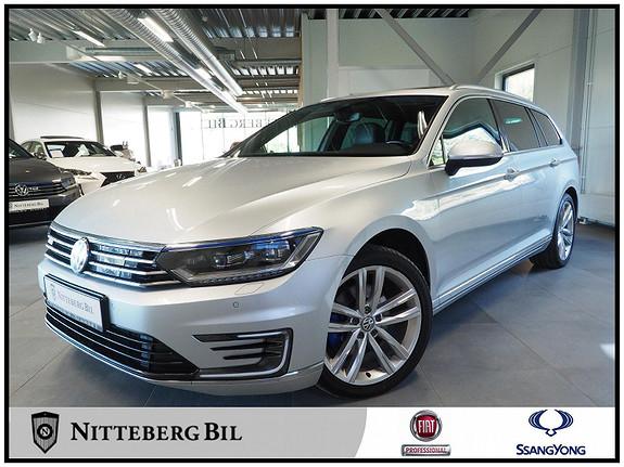 Volkswagen Passat 1,4 TSI 218hk DSG - Fjernbetjent webasto - El takluke -  2017, 198400 km, kr 185000,-