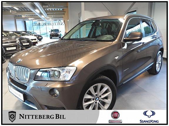 BMW X3 xDrive20d (184hk) Automat - Isofix - Navigasjon - Media  2011, 164000 km, kr 205000,-