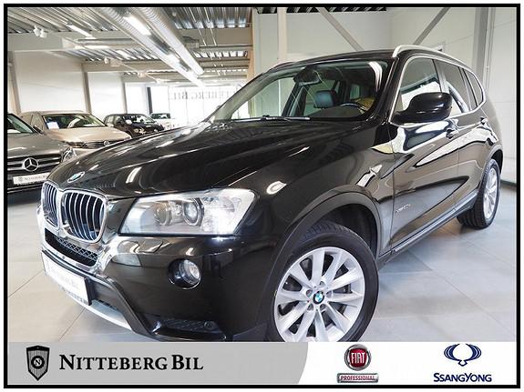 BMW X3 xDrive20d (163hk) Automat - Dab - Navigasjon - Skinn -  2011, 149000 km, kr 215000,-