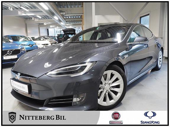 Tesla Model S 75D 4WD Gratis Lading Dab - Navi - Ryggek - Glasstak -  2016, 81000 km, kr 425000,-