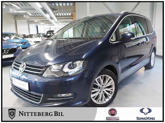 Volkswagen Sharan 2,0 170 TDI BMT DSG Highline - 7 seter - Dynaudio -  2012, 155000 km, kr 239000,-