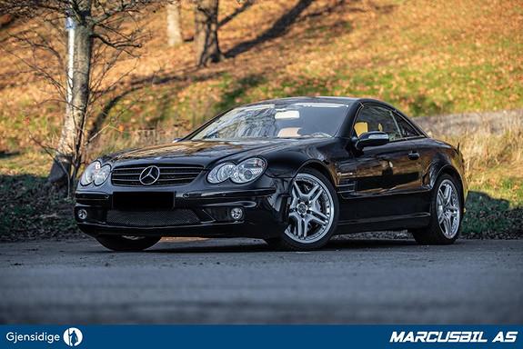 Mercedes-Benz SL 55 AMG 500HK, Performance Package, Full historikk, Se km!  2005, 56983 km, kr 499000,-
