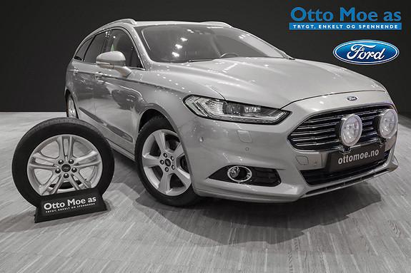 Ford Mondeo 2,0 TDCi 150hk Titanium aut. RENTEKAMPANJE 1,99% LAV KM  2015, 53523 km, kr 269900,-