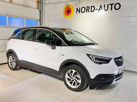 Opel Crossland X 1.2  T 110HK PREMIUM/AUTOMAT/LED/HUD/DAB+/NAVIGASJON  2018, 61500 km, kr 245000,-