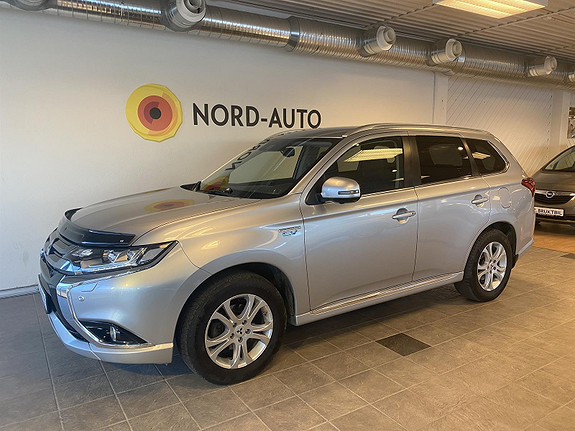 Mitsubishi Outlander 2.0  Instyle+/Norsk/Krok/Ryggekam/Rattvarme  2017, 87500 km, kr 329900,-