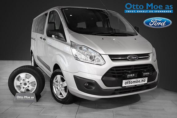 Ford Tourneo Custom 2,2 TDCi 125hk L2 Trend RENTEKAMPANJE 1,99%  2014, 123500 km, kr 299900,-
