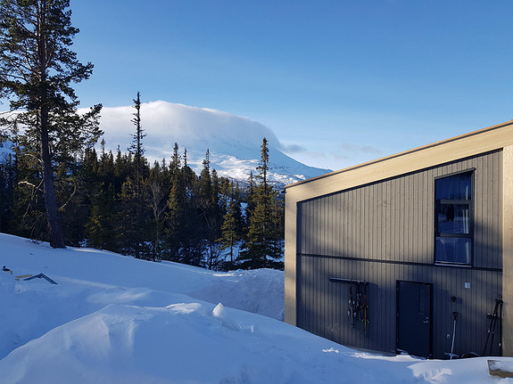 EN hytte ledig BRENDSTAULTUNET midt i Gaustaområde – Moderne 106m2,4 sov,2 bad. Ski inn/ut.