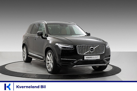 Volvo XC 90 T8 AWD 407hk Inscription  2016, 91 639 km, kr 669 000,-