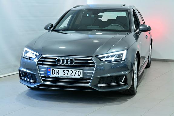 Audi A4 150 TFSI AVA S TRO S LINE  2018, 20300 km, kr 409900,-