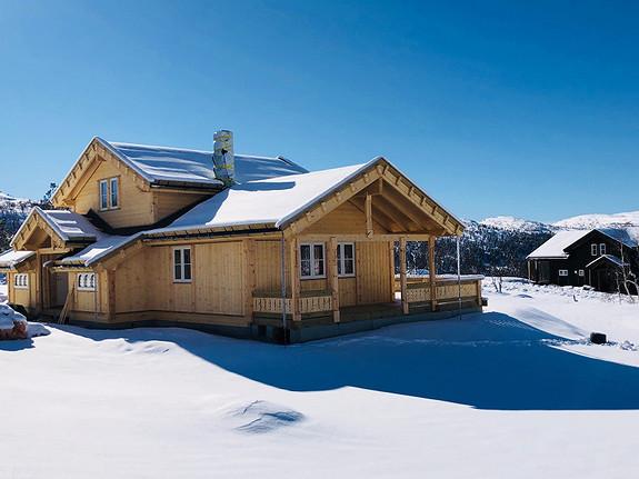 I hjertet av Gudbrandsdalen – Buen Storodde S – Prosjektert hytte over støpt plate