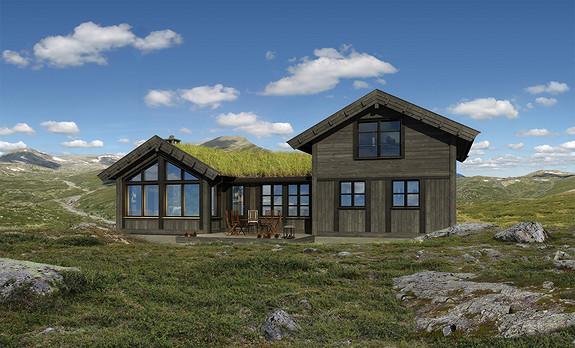 En liten perle i Gudbrandsdalen mellom Hafjell og Kvitfjell – Eksklusiv hytte fra Buen Gruppen
