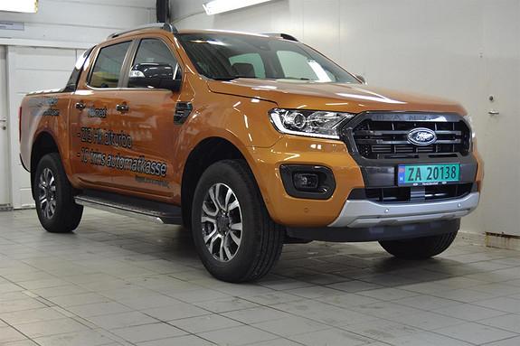 Ford Ranger 2.0 Bi-Turbo EcoBlue Wildtrak AUT  2019, 18000 km, kr 489000,-