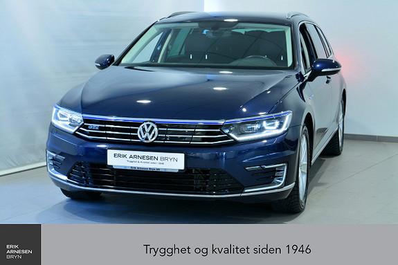 Volkswagen Passat GTE PLUG-IN HYBRID *KAMPANJE*  2017, 30600 km, kr 299900,-
