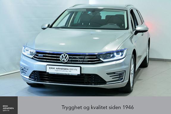 Volkswagen Passat GTE PLUG-IN HYBRID *KAMPANJE*  2017, 40300 km, kr 299900,-