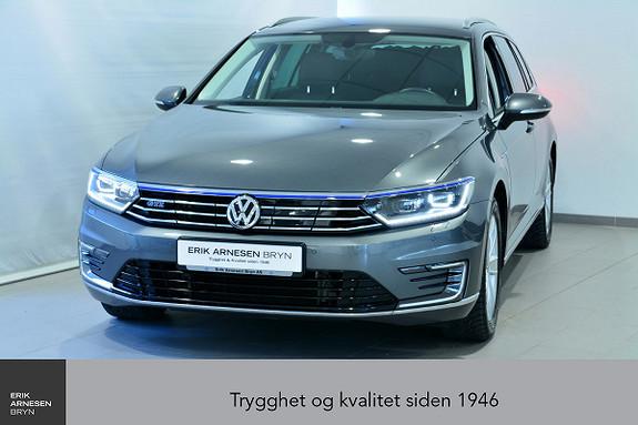 Volkswagen Passat GTE PLUG-IN HYBRID *KAMPANJE*  2017, 31990 km, kr 299900,-