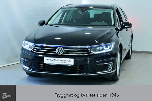 Volkswagen Passat GTE PLUG-IN HYBRID *KAMPANJE*  2017, 46500 km, kr 289900,-