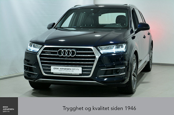 Audi Q7 3,0 TDI 211hk quattro tiptronic 7-seter *KAMPANJE*  2016, 58300 km, kr 669900,-