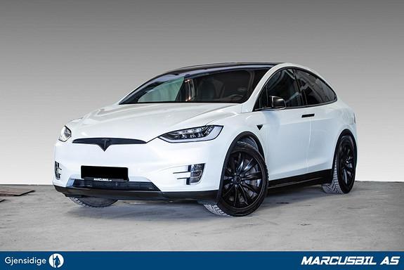 Tesla Model X 75D 6S/AP/LUFT/VINTER/SKINN/H.FESTE  2017, 31320 km, kr 629999,- image